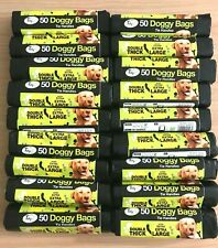 More details for dog poo bags extra strong large double thick dog poop tie handles doggy bags