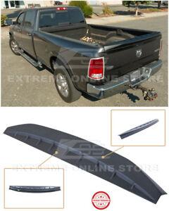 For 09-18 Ram 1500 2500 3500 ABS Plastic PRIMER BLACK Tailgate Rear Wing Spoiler
