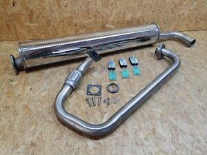 VW T3 1.6 D CS Auspuff Endschalldämpfer in Turbodiesel Optik