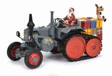 SCHUCO 450769900 Traktor Lanz Bulldog mit Anbauraupe Weihnachten 2018 1:32 - NEU