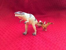 2 Dinosaur Figures Allosaurus & Pteranodon Low Shipping! Lqqk!