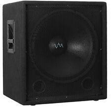 "NEW VM Audio VAS18SUB 18"" 2000 Watt Passive Sub DJ Speaker Pro Subwoofer"