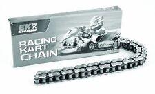 EK Silver Pro #219 114 Link Kart Chain - Mini Bike & Go Kart Racing Parts
