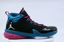 Nike Air Jordan Flight Time 14.5 Basketball SNEAKERS Black White Teal  654272 026 8ce7c1ecc