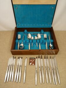 Oneida Community Woodmere Stainless Steel Cutlery Set 65 Piece   Thames Hospice