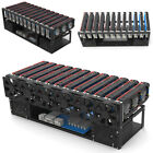 Open Air 12 GPU Mining Rig Frame Miners Crypto Coin Computer Case Ethereum