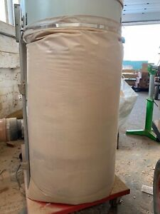 50 Dust Extractor Collector Bags Heavy Duty Plastic Wood Waste Extraction 500mm
