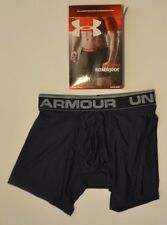 New Under Armour Original Boxer Jock briefs NIB SZ. S  6-inch UA 28-29 midnight