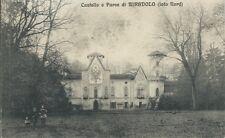 Castello Parco di Miradolo San Secondo Pinerolo Animata - Torino viaggiata 1927