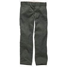 Dickies Slim Straight Work Hose 2015 Charcoal Grey 36/34 Wp873-ch
