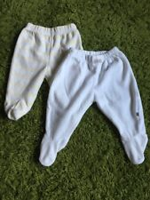 2x Newborn Velour First Size Mothercare Disney Bottoms Months In Great Condition