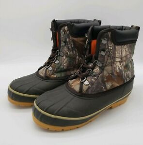 GAME WINNER Youth Duc Boot II Camo Hunting Boots, Size 6 - YFWGWFS 1045