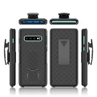 Samsung Galaxy S10 / S0Plus / S10e Case Slim Rugged Holster Clip Kickstand Cover