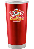 KANSAS CITY CHIEFS SUPER BOWL LIV CHAMPIONS 20OZ TUMBLER