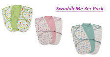 SWADDLEME WICKELDECKE Schlafsack Pucksack Baby 3er Pack NEUE MODELLE!!!