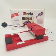 Original Red Sissix Personal Die Cutter, for Card Making, Crafting, Scrapbooking
