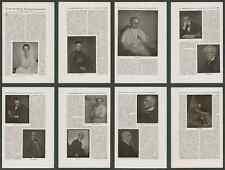 Perscheid Porträtfotografie Tiemann Quensel Wüllner Molo Gugg Borsig Berlin 1925