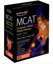 MCAT Complete Set 7 book Subject Review 2020-2021 🔥(P.D.F)🔥