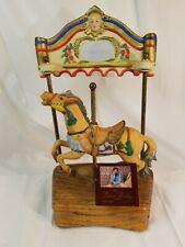 Willitts Designs Tobin Fraley Porcelain Horse Music Carousel - 5041 Taiwan 1985