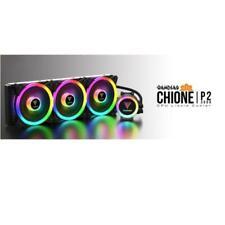 DISSIPATORE PC CPU GAMDIAS CHIONE P2-360R 4*FAN RGB TELECOMANDO + SYNC SOFTWARE