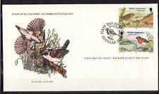 Ile de Man  enveloppe  faune nature  oiseaux noel    1980