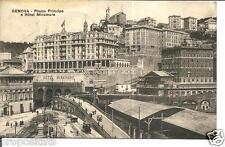 li 04 1922 Genova - piazza Principe Hotel Miramare   viagg.FP