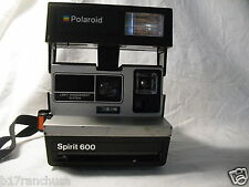 """Polaroid Spirit 600"" ""Instant Film Camera"" Flash Vintage Black 1988"