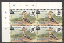 Lesotho abubilla/Pájaro/35s en 75s/1981 Pie de imprenta C/b n22439