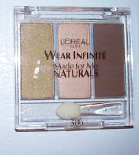 Loreal Wear Infinite Made for Me Naturals FOREST LIGHT 306 Eyeshadow Nude Colors