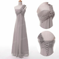 Sexy LONG Chiffon Formal Evening Ball Gown Cocktail Prom Party Bridesmaid Dress