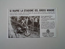 advertising Pubblicità 1972 MOTO MULLER 50 GT CROSS