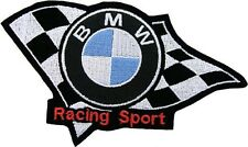 PARCHE BMW RACING SPORT BORDADO TERMOADHESIVAS bordado 13 x 8 cm