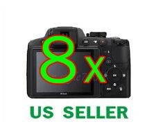 8x Nikon Coolpix P510 Digital Camera LCD Screen Protector Guard Film