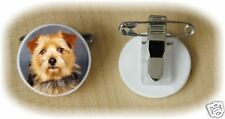 Norfolk Terrier Fine Bone China Ring Clip by Starprint - Auto combined postage