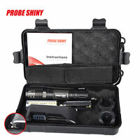 X800 XM-L T6 LED Flashlight Tactical Zoomable Torch Light Lamp +18650 + Charger