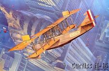 Curtiss H-16 / U.S. Felixstowe F. 2A / (U.S. Navy & British RNAS MKGS) 1/72 Roden