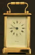 L'EPEE 8 DAY TIMEPIECE CORNICHE CARRIAGE CLOCK SIGNED WORCESTER