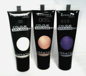 RIMMEL COLOUR MOUSSE 8hr EYESHADOW assorted colours 7ml