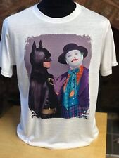 Batman and The Joker T-Shirt - Mens & Women's sizes S-XXL - Michael Keaton 80s