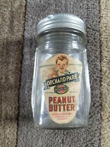 Vintage Orchard Park Peanut Butter jar