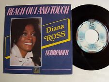 "DIANA ROSS : Reach out and touch / Surrender  7"" 45T French MOTOWN VOGUE 101659"