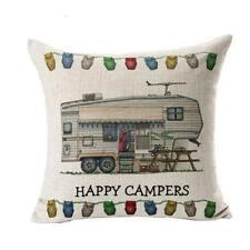New Soft Pillow Case Sofa Waist Throw Cotton Cover Home Decor Bed Pillows