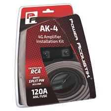 Power Acoustik AK4P 4 Gauge Amp Kit Mini ANL