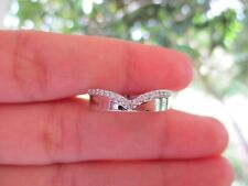 .23 Carat Diamond White Gold Half Eternity Ring 14k sepvergara