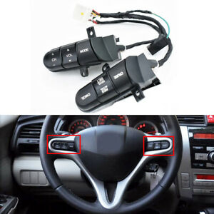 !Steering Wheel Audio Cruise Control Switch Assy for Honda 2006-2008 Civic