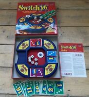 Switch 16 Dice Card Board Game Tomy 2003 Excellent