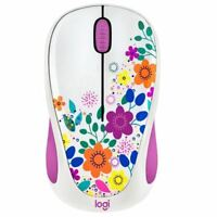New Logitech Design Collection Optical Wireless Mouse,Retail Box