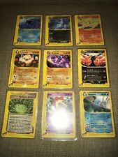 Aquapolis Rare Star Pokémon Cards Lot Of 9