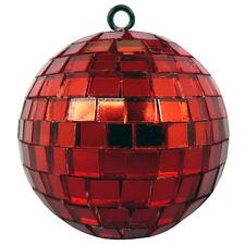 kleine Spiegelkugel Disco-Kugel Disko-Kugel DJ Effekt-Licht Party-Licht 5cm rot