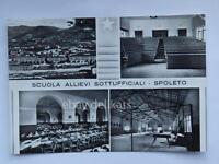 SPOLETO Scuola Allievi Sottufficiali Perugia vecchia cartolina